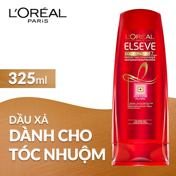 Dầu xả L'Oréal Paris Elseve Color Protect