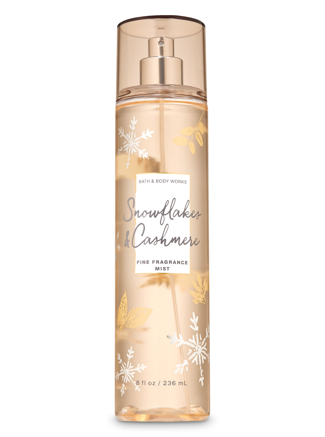 Xịt toàn thân Bath And Body Works - Snowflakes And Cashmere