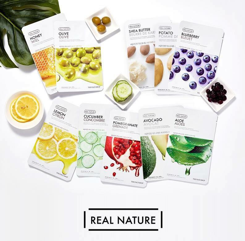 Mặt nạ Real Nature The Face Shop