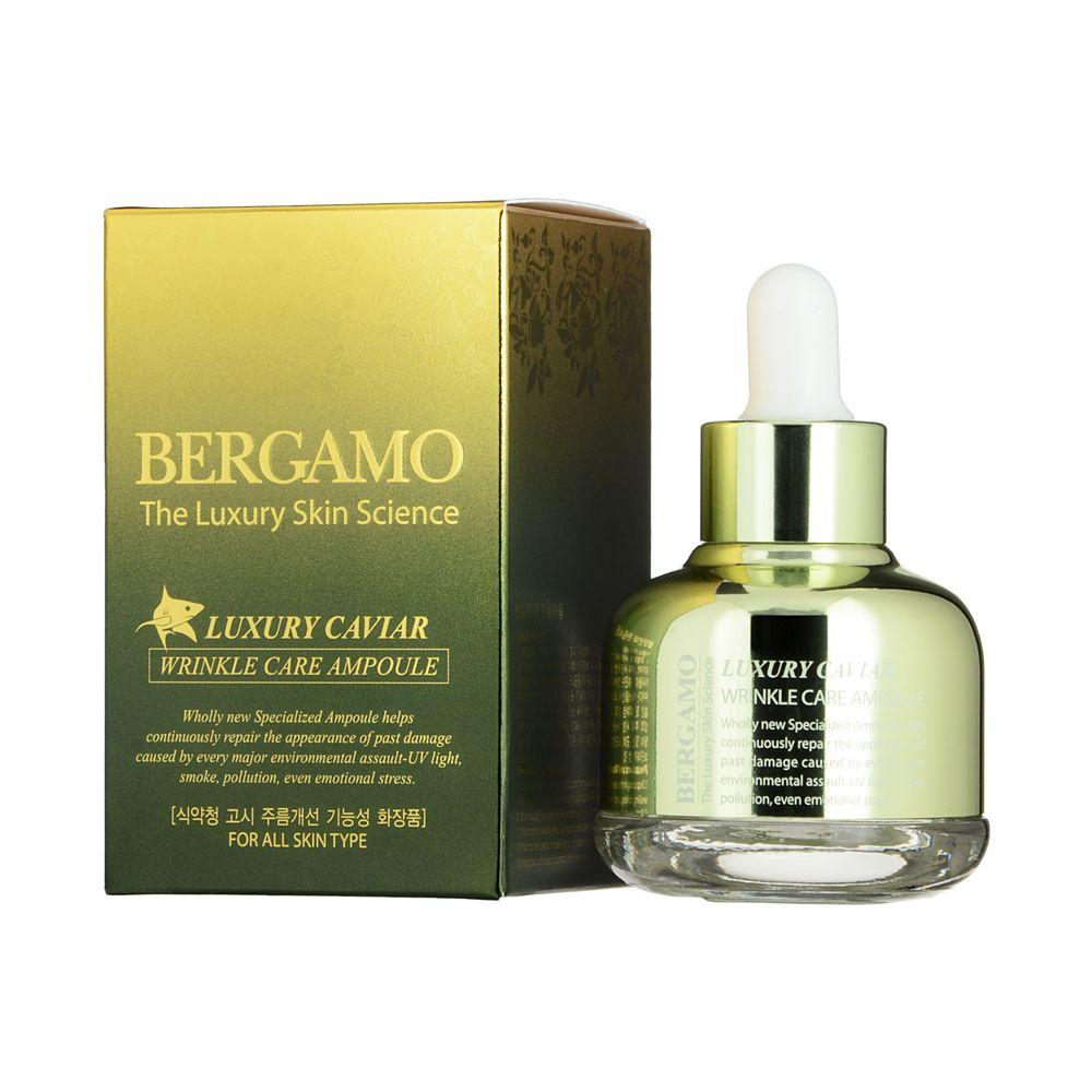 Serum Bergamo Luxury Caviar Wrinkle Care Ampoule