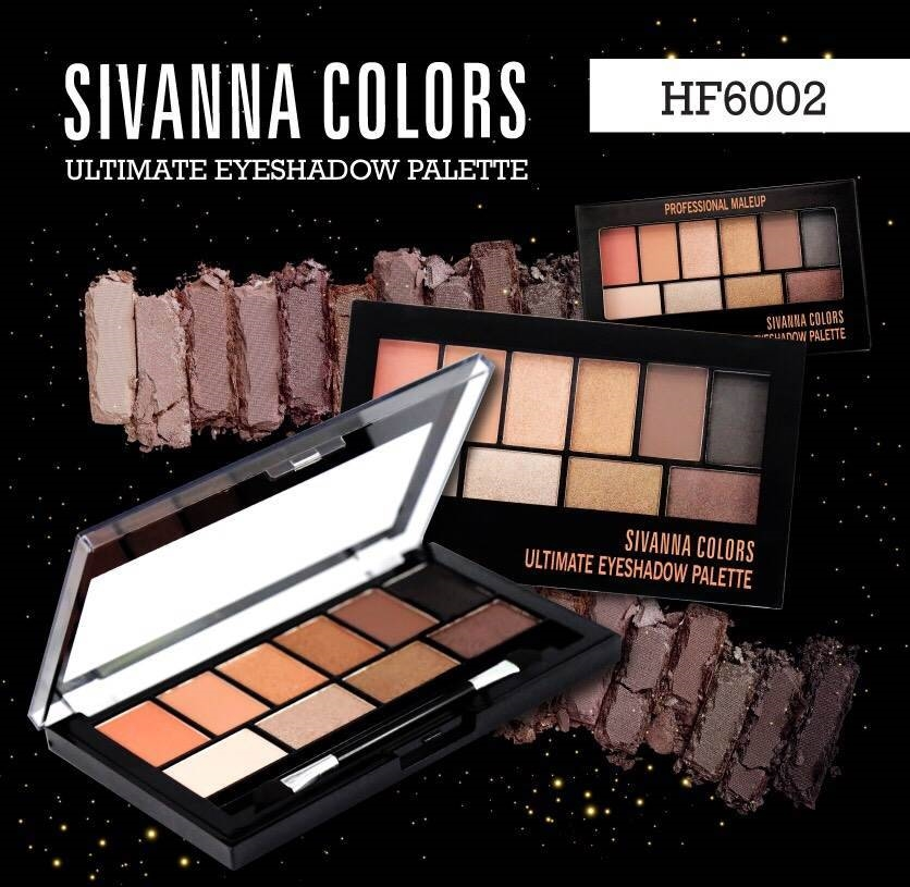 Phấn Mắt Sivanna Ultimate Eyeshadow Palette HF6002