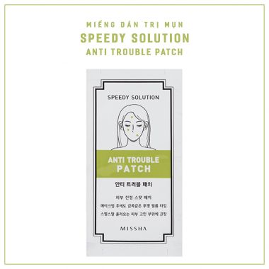 Miếng Dán Trị Mụn Missha Speedy Solution Anti Trouble Patch