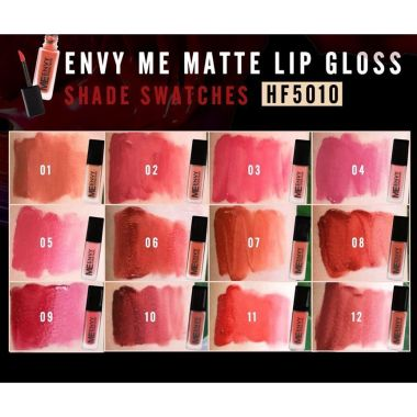 Son kem lì Sivanna Colors Envy Me Matte Lip Gloss HF5010