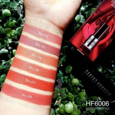 Son thỏi lì Sivanna Colors Mystery Mattes Lipstick HF6006