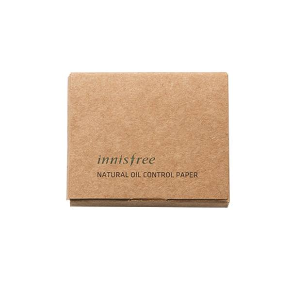 Giấy thấm dầu Natural Oil Control Paper Innisfree