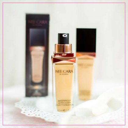 Kem nền Nee Cara Waterproof Ultra Cover Liquid Foundation