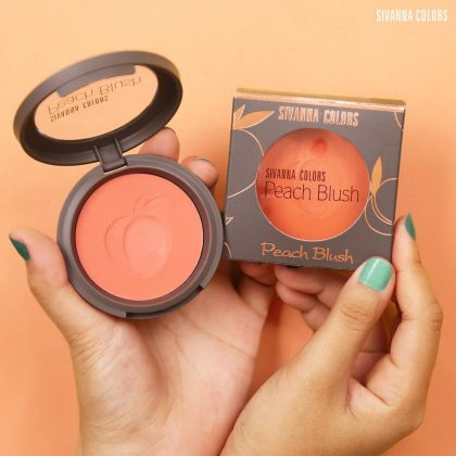 Má hồng Sivanna Colors Peach Blusher HF6017